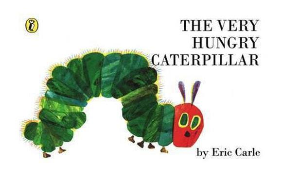 The Very Hungry Caterpillar By Eric Carle  A newly-hatched caterpillar eats his way through the pages of the book - literally - and all the different foods he finds along the way before finally becoming a beautiful butterfly. Children will love the funny story and beautiful pictures, while learning about how butterflies are made.