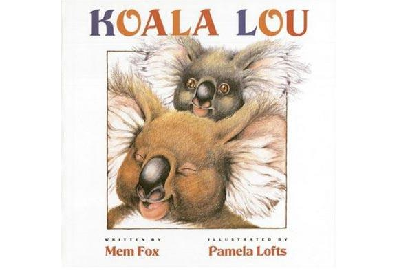 Koala Lou By Mem Fox, Pamela Lofts  Koala Lou's mum is so busy with her other children that she forgets to tell her how much she loves her, so Koala Lou decides to join the bush Olympics - determined to win an event and her mother's love. The illustrations by Lofts beautifully capture Australia's native flora and fauna.