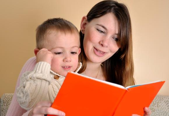 Make the most of the books you read to you children, and give them a head start by using books to help them read.