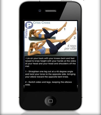 "To help strengthen all those core muscles that have had a pretty rough time of it during labor, try this [pilates app](http://itunes.apple.com/us/app/ipump-pilates/id292835472?mt=8/|target=""_blank"") for iPhone.   Pilates instructor Kristin McGee has 3 progressive levels of Pilates mat sessions to tone your midsection and you can do it where ever and whenever it suits you.   There is a track and log feature for your workouts and you don't have to hunt down a DVD or be in front of a television to get started.  [iPump Pilates](http://itunes.apple.com/us/app/ipump-pilates/id292835472?mt=8/
