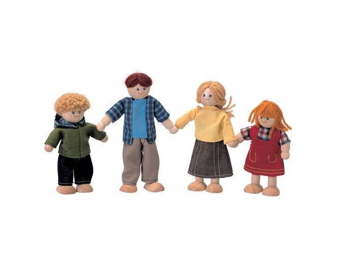 This adorable family of wooden dolls have moveable arms and legs and come dressed in colourful clothes. Made from sustainable and natural rubberwood, eco-friendly processes and child-safe, non-toxic paints, they also measure up in terms of environmental impact.  $36.95 from EcoToys
