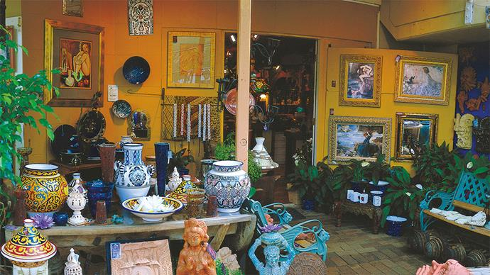The shops of Montville sell everything from cuckoo clocks to opal jewellery.