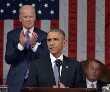 Barack Obama focuses on women's rights in State of the Union speech